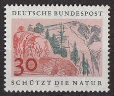 Germania 1969 Sc. 1002 Protezione Della Natura : Montagne  MNH Germany - Protezione Dell'Ambiente & Clima