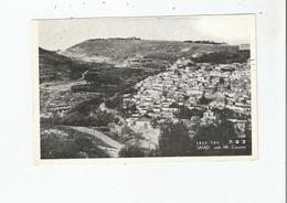 SAFAD WITH  MT .  CANAAN  1350 - Israele