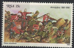 Afrique Du Sud 1981 Oblitéré Used Militaria Amajuba Battle Bataille De Majuba - Afrique Du Sud (1961-...)