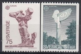 SWEDEN 852-853,unused - Monumenten