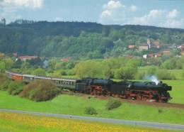 1954549Dampf-Lokomotiven 01 150 + 23 105 (Karte 21-15) - Trains