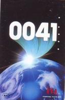 Télécarte Japon *  ESPACE (988)  GLOBE * SATELLITE * TERRESTRE * MAPPEMONDE Telefonkarte Phonecard JAPAN - Espace