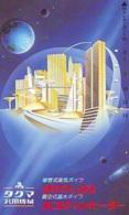 Télécarte Japon *  ESPACE (989)  GLOBE * SATELLITE * TERRESTRE * MAPPEMONDE Telefonkarte Phonecard JAPAN - Espace