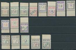 FELDPOST I.WK **, Lagerpost: 1915, 16 Verschiedene Postfrische Werte Ruhleben, Pracht - Allemagne