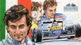 Australia  Adelaide - Grand Prix Formula 1 - Riccardo Patrese - Williams-Renault - - Grand Prix / F1