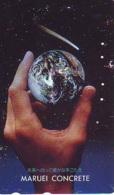 Télécarte Japon * * ESPACE (994)  GLOBE * SATELLITE * TERRESTRE * MAPPEMONDE Telefonkarte Phonecard JAPAN - Espace
