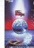 Télécarte Japon *  ESPACE (999)  GLOBE * SATELLITE * TERRESTRE * MAPPEMONDE Telefonkarte Phonecard JAPAN - Espace