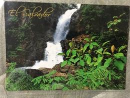 Circulated Postcard El Salvador 2012 Landscape  , ( Church And Lions Club Stamps ) - Salvador