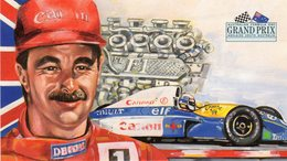 Australia  Adelaide - Grand Prix Formula 1 - Nigel Mansell - Williams-Renault - Campione Mondiale 1992 - - Grand Prix / F1