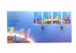 Hong Kong - Giochi Olimpici Sidney 2000 - FDC - YVERT 944/947 - 1997-... Regione Amministrativa Speciale Della Cina