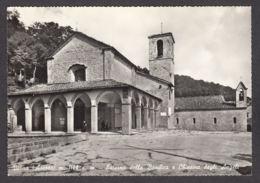 71380/ CHIUSI DELLA VERNA, La Verna, Esterno Della Basilica E Chiesina Degli Angeli - Arezzo