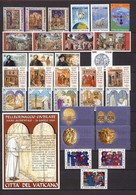 2001 VATICANO -  Annata Completa  MNH-VF ** - Vaticano