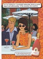 195463''Alizé Red Passion Martini'' (REPRO) - Pubblicitari