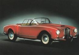1954121Lancia, Aurelis B24 Spider 1955 (REPRO)(zie Hoeken En Randen) - Postales