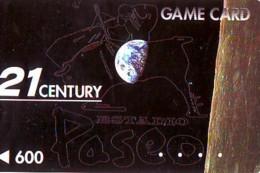 Carte Prépayée Japon * ESPACE (1007)  GLOBE * SATELLITE * TERRESTRE * MAPPEMONDE  Karte PREPAID CARD JAPAN - Espace