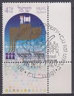 ISRAEL 2002 Nº 1616 USADO CON TAB - Israel