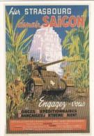 1954286Hier Strasbourg Demain Saïgon.  (REPRO) - Guerra 1939-45