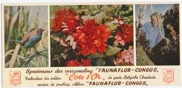 "Côte D'Or - Specimens Der Verzameling ""Faunaflor - Congo II"" - Vloeipapier - Chocolat"