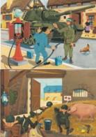 1954303J. Maezelle (2 Kaarten) - Humorísticas