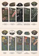 1954304Duitse Uniformen. (5 Kaarten)(REPRO) - Uniforms