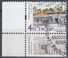 ISRAEL 2002 Nº 1625 USADO CON TAB - Israel