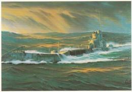 1954354Onderzeeboot Hr. Ms. K XVI. 1974 (Cornelis Albertus De Vries)(REPRO) - Sous-marins