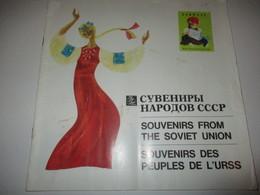 Catalogue Touristique Ancien En Français-Anglais-Russe/Souvenirs Des Peuples De L'URSS/Intourist/Expo Montréal 1967 DT35 - Folletos Turísticos