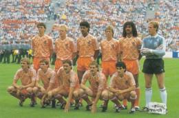 1954378Het Nederl. Elftal In 1988 Europees Kampioen. (REPRO) - Football