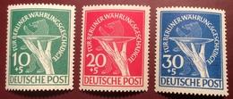 Berlin 1949 Für Berliner Währungsgeschädigte Mi. 68-70 ** Satz (Bär Ours Bear Germany Deutschland - [5] Berlin