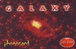 Carte Prépayée * ESPACE (1028) GALAXY * GLOBE * SATELLITE * TERRESTRE * MAPPEMONDE  Karte PREPAID CARD - Espace