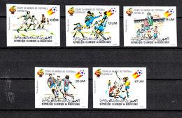 Mauritania  -  1982.  Champion Italia. MNH Complete Set - 1982 – Espagne