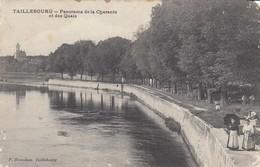17 - Charente-Maitime - Taillebourg - Un Beau Panorama De La Charente - Les Quais Animés - France