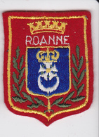 Ecusson Tissu - Roanne (42) - Blason - Armoiries - Héraldique - Stoffabzeichen