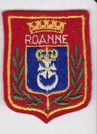 Ecusson Tissu - Roanne (42) - Blason - Armoiries - Héraldique - Patches