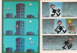 1954520GUILLERMO MORDILLO (2 Kaarten)(zie Hoeken En Randen) - Humour
