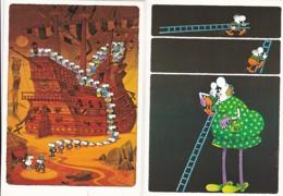 1954521GUILLERMO MORDILLO (2 Kaarten)(zie Hoeken En Randen) - Humor