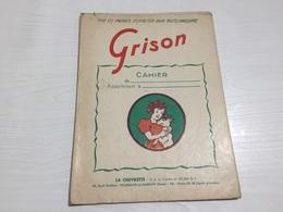 PROTÈGE CAHIER Ancien CHAUSSURE ENTRETIEN GRISON LA CHEVRETTE - Book Covers