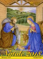 Folder CHRISTMAS 2018 Vatican NATALE Vaticano Stamps NAVIDAD Francobolli NOËL Timbres WEIHNACHTEN VATIKAN PV/98 25 Dec - FDC