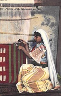 Tunisie - Lehnert & Landrock  Tunis N°676- Femme Arabe Fabriquant Un Tapis  *PRIX FIXE - Tunesien
