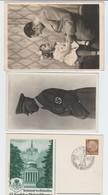 Deutsches Reich , 2 Fotokarten Und Eine Privatganzsache - Deutschland