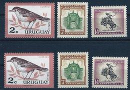 BK042 Lot Mit 6 Werten Uruguay, Postfrisch - Uruguay