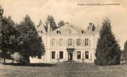 87. CPA.  PUYCHENY.  Le Chateau De Puycheny, Près Séreilhac. 1908. - France