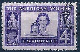 BK045 U.S. Postage The American Woman, 4c, Gestempelt - Vereinigte Staaten