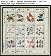SAMMLUNGEN, LOTS Bl.,KB,H-Bl. **, 1976-86, Kleine Partie Verschiedener Blocks, Kleinbogen Und Heftchenblätter Großbritan - Grande-Bretagne