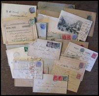 SAMMLUNGEN, LOTS 1882-1936, 27 Belege Nach Deutschland - Grande-Bretagne