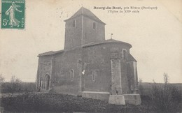 24 - Dordogne - Bourg-du-Bost - Environs De Ribérac - L'Eglise Du XIIIe.S - France