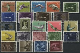 JAHRGÄNGE 342-64 **, 1956/7, 2 Komplette Jahrgänge, Pracht, Mi. 204.- - Liechtenstein