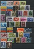 JAHRGÄNGE 365-403 **, 1958-60, 3 Komplette Jahrgänge, Pracht, Mi. 283.40 - Liechtenstein