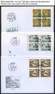 SAMMLUNGEN, LOTS VB BRIEF, 1998/9, 2 Jahrgänge Komplett, Bis Auf Mi.Nr. 1167-70, 1173-76 Und Bl. 16 In Viererblocks Auf  - Liechtenstein