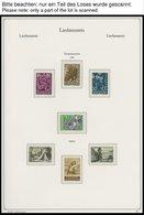 SAMMLUNGEN **, Fast Komplette Postfrische Sammlung Liechtenstein Von 1960-95 Im KA-BE Falzlosalbum, Prachterhaltung, Mi. - Liechtenstein
